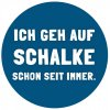 Schalke Aufkleber